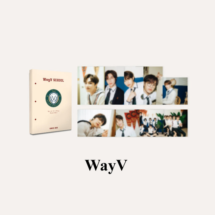 [Pre-Order] WAYV 2021 BACK TO SCHOOL KIT - HARD COVER POSTCARD BOOK