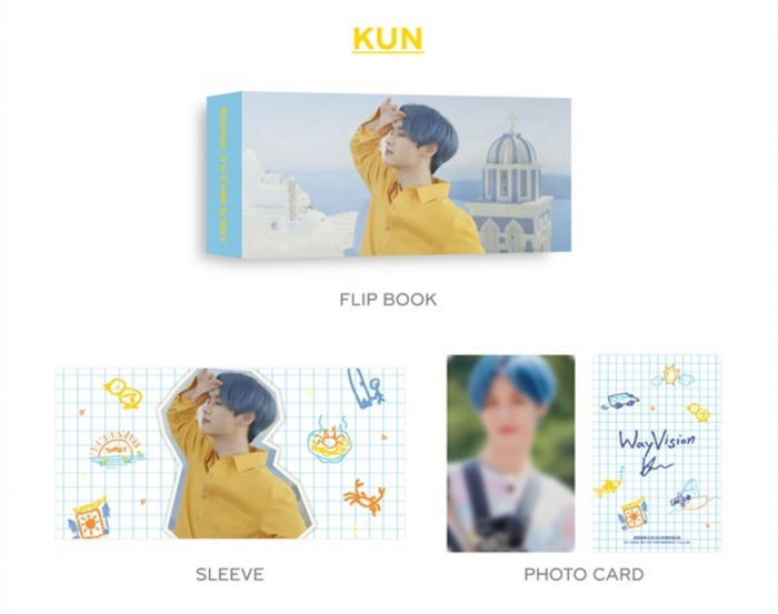 WayV - WayVision [Flip Book + Photocard Set]