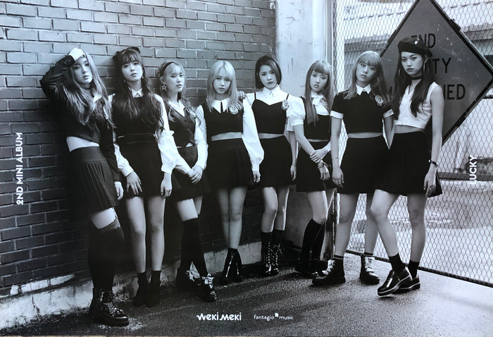 Weki Meki 2nd Mini Album Lucky Official Poster - Photo Concept 2