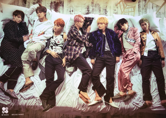 BTS 2ND ALBUM [WINGS] OFFICIAL POSTER