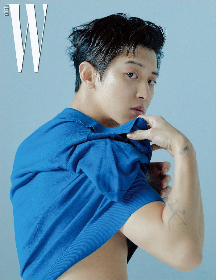 W Korea Magazine 2019-03 Type.A EXO CHANYEOL