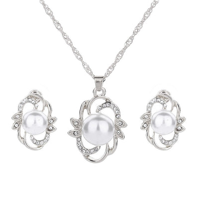 2018 New Design Classic Pearl Jewelry Set