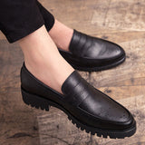 HEE GRAND 2019 New Causal Outdoor Slip-On Hard-Wearing Men Leather Shoes Breatable And Comfortable Shoes Big Size 38-47 XMP893