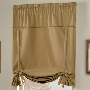 "Blackstone Tie Up Shade, 40"" x 63"" Gold"