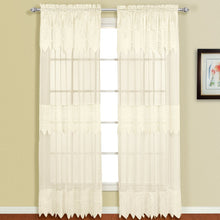 Valerie Window Panel Pair Natural