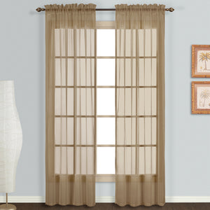 Monte Carlo Window Panel Pair Taupe