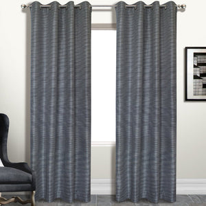 Brighton Curtain Window Panel Platinum