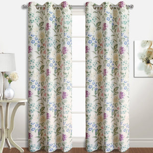 Christine Curtain Window Panel Pairs Multi