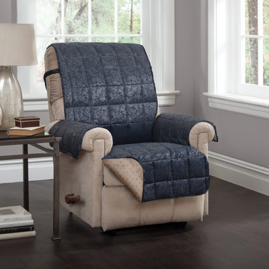 Brentwood Recliner Protector Navy