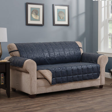 Brentwood Sofa Protector Navy