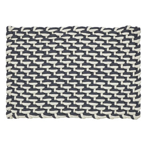 Stranded Braid Handwoven Rug Gray/Ivory