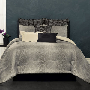 Avalon 4 Piece Comforter Set - Platinum
