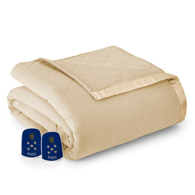 Micro Flannel® Chino Electric Blanket