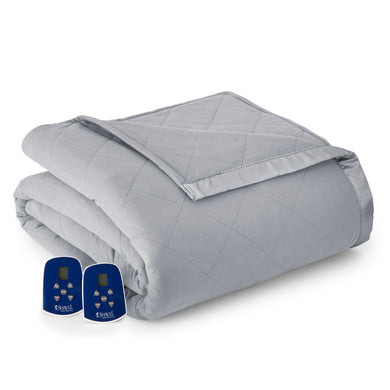 Micro Flannel® Greystone Electric Blanket