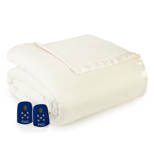 Micro Flannel® Ivory Electric Blanket