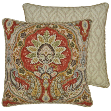 Harrogate Collection 18 x 18 Throw Pillow