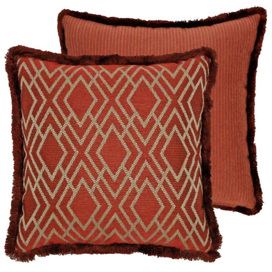 Harrogate Collection 18 x 18 Woven Throw Pillow