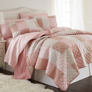 Micro Flannel® Enchantment Patchwork Quilt Mini Set