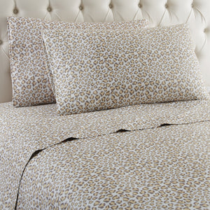 Micro Flannel® Leopard Sheet Set