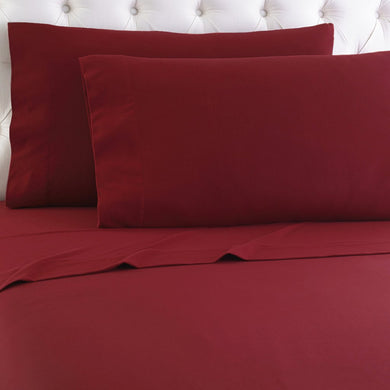 Micro Flannel® Scarlet Sheet Set