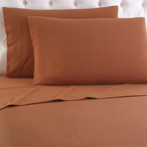 Micro Flannel® Spice Sheet Set