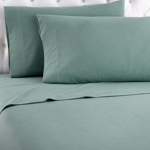 Micro Flannel® Spruce Sheet Set
