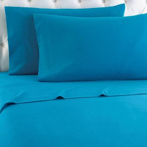 Micro Flannel® Teal Sheet Set