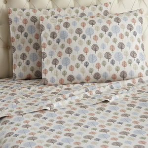 Micro Flannel® Trees Sheet Set