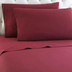 Micro Flannel® Wine Sheet Set