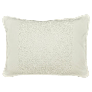 Santa Monica Collection 12 x 18 Throw Pillow - White