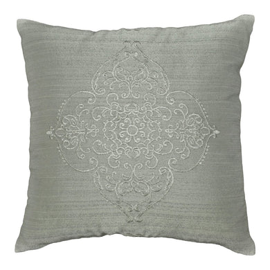 Textura Collection 16 x 16 Throw Pillow - Gray