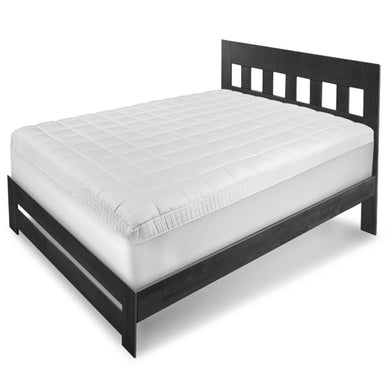 Ultra Fresh™ Antimicrobial Mattress Pad on bed