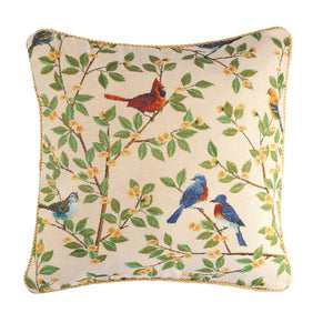 Songbird Tapestry Pillow Cover in use with your pillow