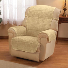 Bradley Sherpa Recliner Protecting Cover Camel