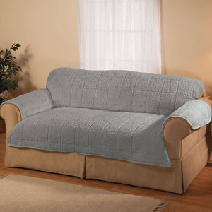 Parker Water-Resistant Sherpa Sofa Cover by OakRidge gray