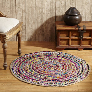 Natural Astoria Braided Rug - Assorted Sizes