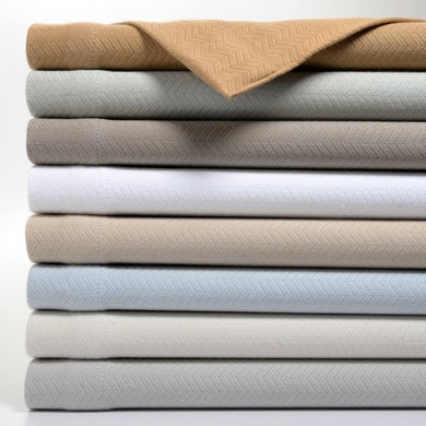 Woven Ultra Soft Premium Cotton Blanket by OakRidge