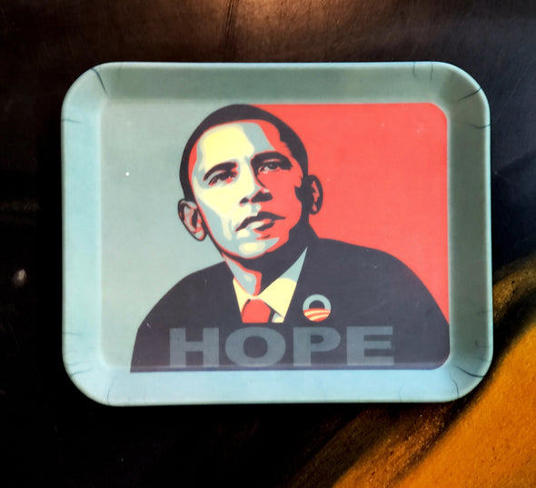OBAMA HOPE SMALL ROLLING TRAY