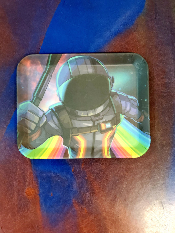 RAINBOW SPACE MAN SMALL ROLLING TRAY