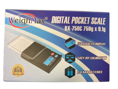 WeighMax Digital Pocket Scale - Small