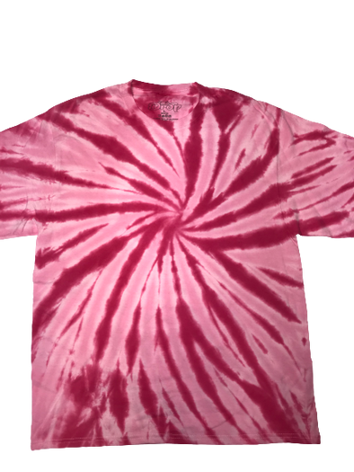 The Drop Tye Die T-Shirt - Pink
