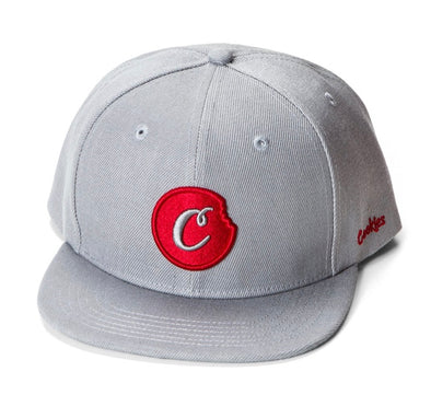COOKIES C-BITE SNAPBACK - Grey/Red