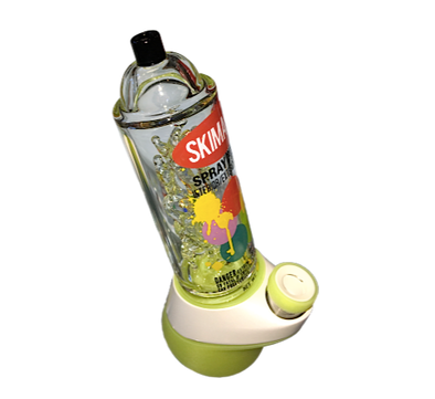 SKIMASK Spray Paint Can Glass Attachment