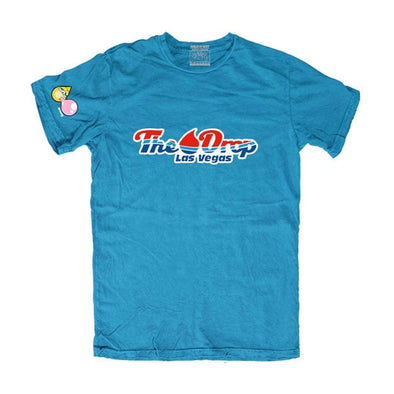 "THE DROP ""WILD N WET"" T-SHIRT TEAL"