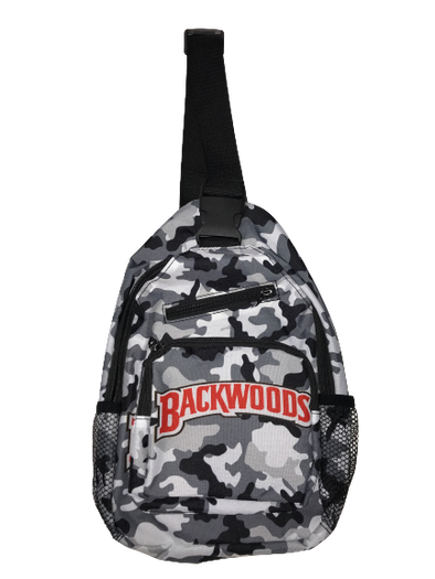 Backwoods Shoulder Bag - Grey/Brown