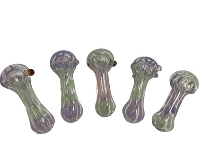 Purple Squiggle Spoon Pipes