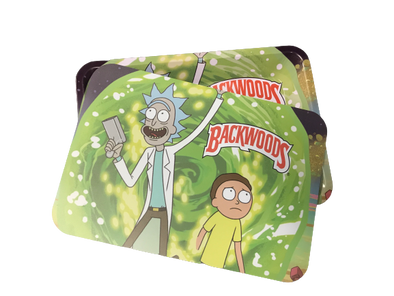 Backwoods Rick & Morty Magnetic Rolling Tray