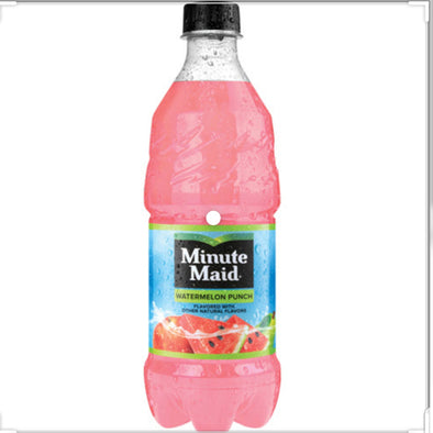 Minute Maid Watermelon Punch Exotic Pop