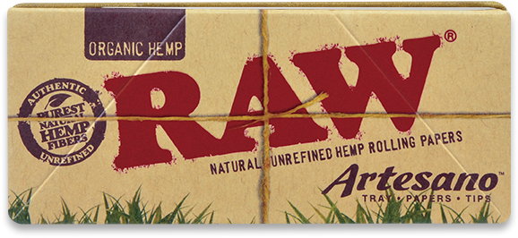 RAW Organic Artesano Rolling Papers