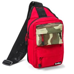 "COOKIES SMELL PROOF ""RACK PACK"" OVER THE SHOULDER SLING BAG RED"
